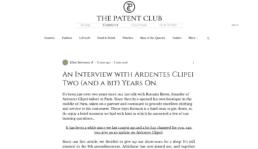 the patent club ardentes clipei