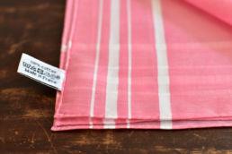mouchoir rouge en coton
