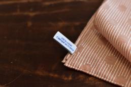 pochette rouge en coton