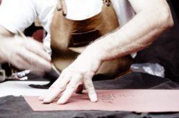 atelier decoupe cuir atacama vestes