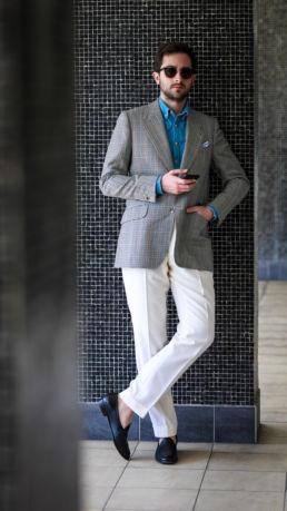 pantalon-blanc-ardentes-clipei-veste-petits-carreaux