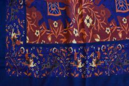 echarpe laine de yack elephant bleu-1