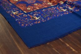 echarpe laine de yack elephant bleu-2