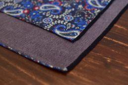 echarpe reversible paisley bleu et gris-3