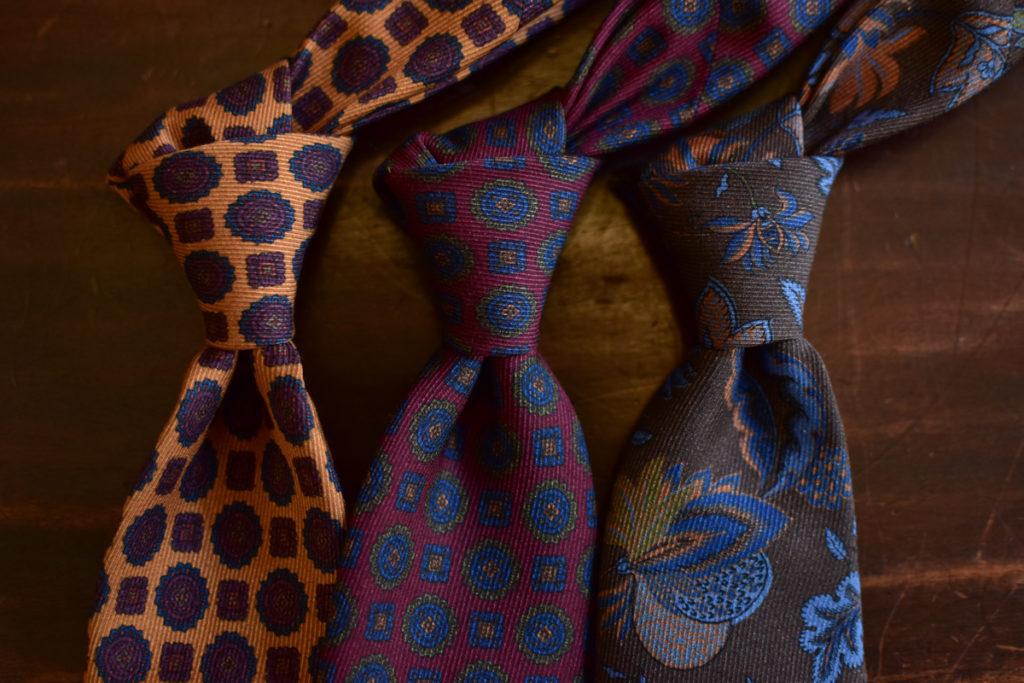 cravates twill de soie